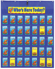 Attendance/Multiuse Pocket Chart