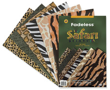 "Fadeless® Safari Prints Paper, 12"" x 18"" Assorted"