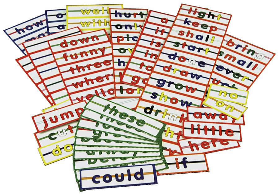 Sight Word String Ups