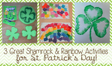 3 Great Shamrock & Rainbow Activities for St. Patrick's Day!