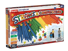 Roylco® Straws & Connectors®, 705 Pieces