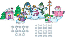 Snow Pals Bulletin Board Set