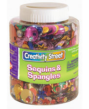 Sequins & Spangles Shaker Jar - 8 Oz