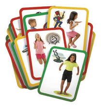 Busy Body Gross Motor Exercise Cards