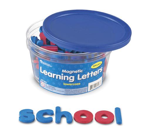 Magnetic Learning Letters: Lowercase
