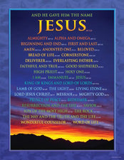 Names of Jesus Chart
