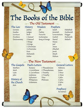 The Books of the Bible Chart