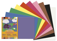 "SunWorks® Construction Paper, 12"" x 18"" Assorted"