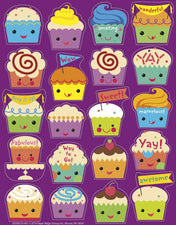 Cupcake Scented Stickers