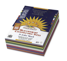 "SunWorks® Construction Paper Smart-Stack™ Assortment, 9"" x 12"""
