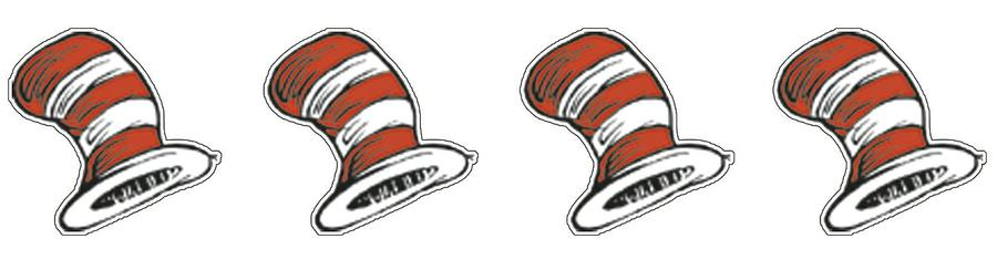 Cat in the Hat™ Theme Stickers