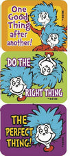 Dr. Seuss™ Thing 1 And 2 Success Stickers