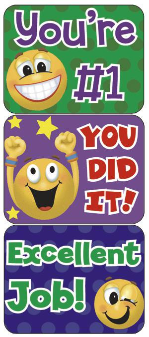 Emoticons Success Stickers