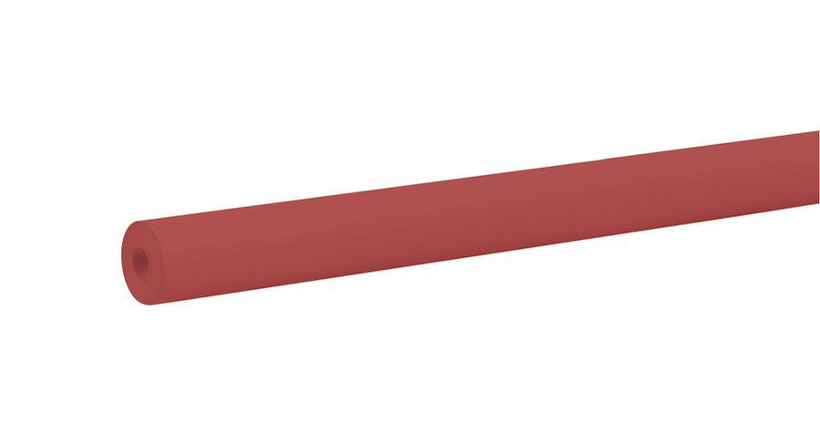 "Rainbow® Colored Kraft Duo-Finish® Paper, 36"" x 100' Flame Red"