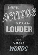 Your Actions... Inspire U Poster