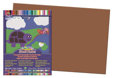 "SunWorks® Construction Paper, 12"" x 18"" Brown"