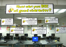 How Can You BEE of Good Character? - Spring Bulletin Board Idea