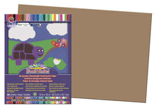 "SunWorks® Construction Paper, 12"" x 18"" Light Brown"