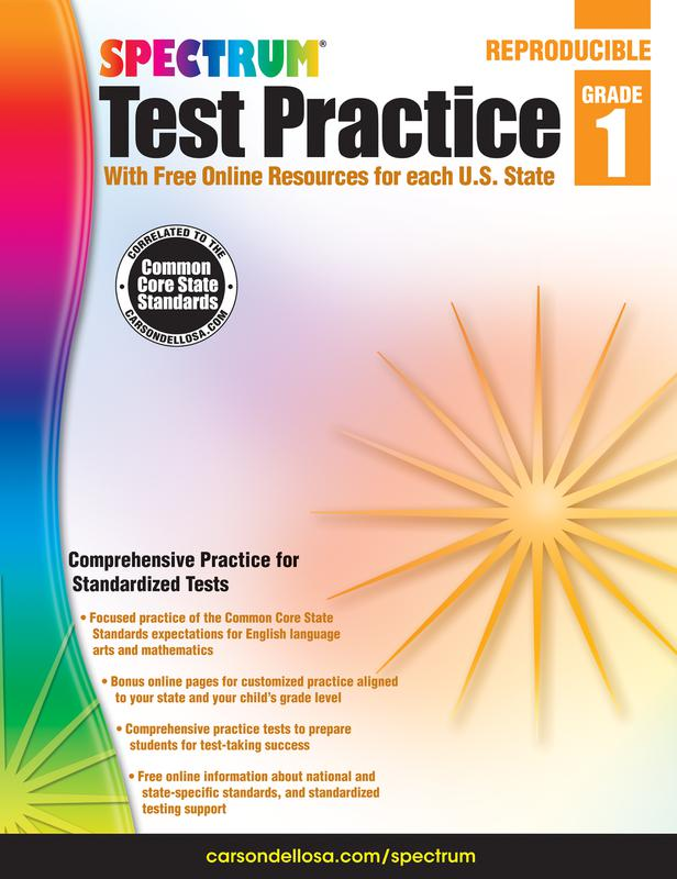 Test Practice Workbook, Gr 1