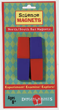North / South Bar Magnets