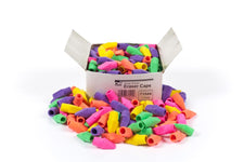 Eraser Caps, Assorted Colors