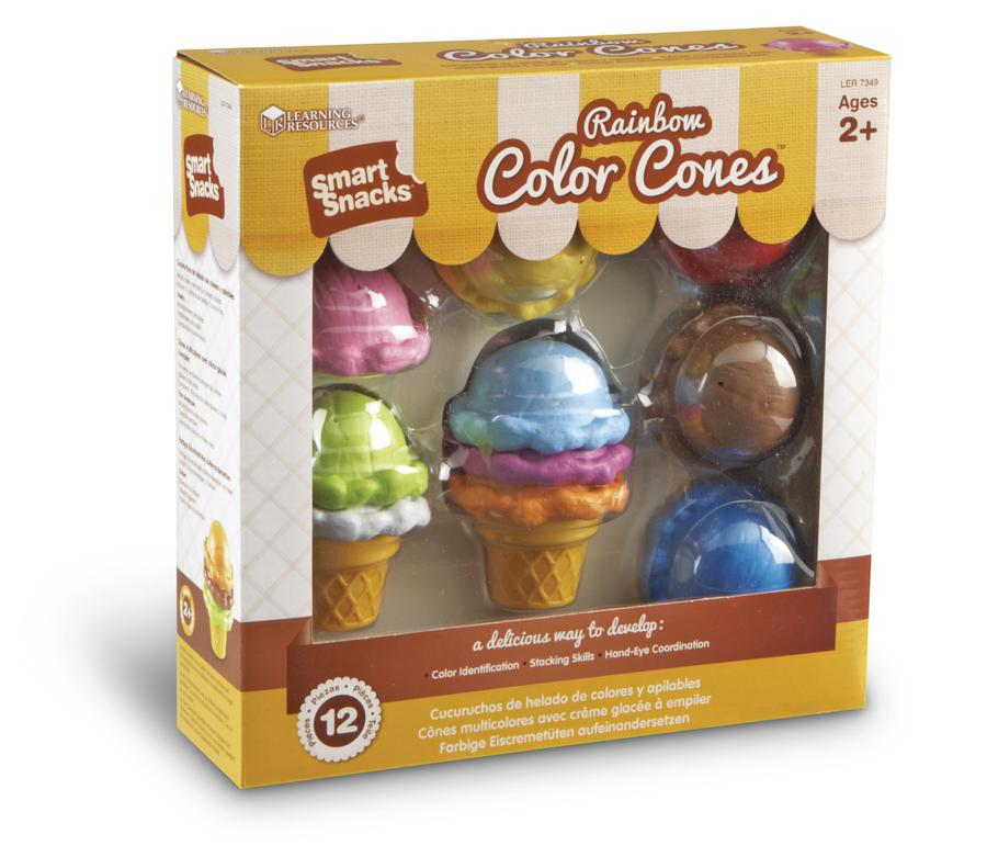 Smart Snacks® Rainbow Color Cones™