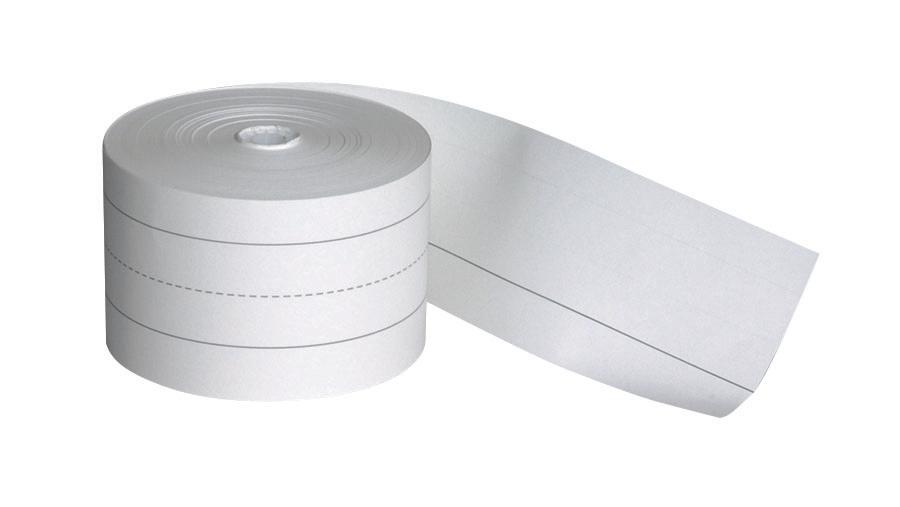 "Sentence Strip Rolls, 3"" x 200' White"