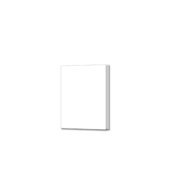 White Softcover Rectangle Blank Book for Young Authors
