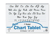 "Chart Tablet, 24"" x 16"", Ruled 1"""