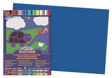 "SunWorks® Construction Paper, 12"" x 18"" Bright Blue"