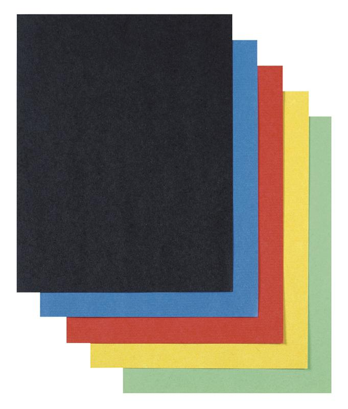 Super Value Poster Board Assorted Colors 22 x 28, 50 Sheets