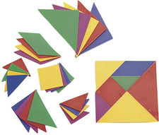 Tangrams - 4 Sets (28 Pieces)