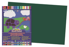 "SunWorks® Construction Paper, 12"" x 18"" Dark Green"