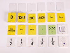 F.U.N.™ Empty Number Line, Cards Only, Grades 2-3