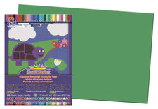 "SunWorks® Construction Paper, 12"" x 18"" Holiday Green"