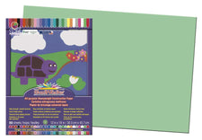 "SunWorks® Construction Paper, 12"" x 18"" Light Green"