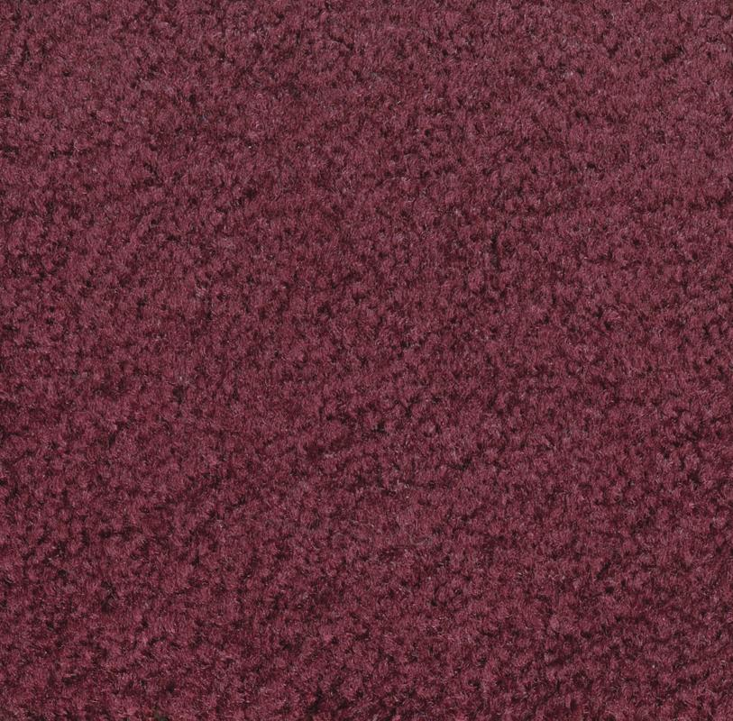 Mt. St. Helens Solid Cranberry Classroom Rug, 6' x 9' Oval