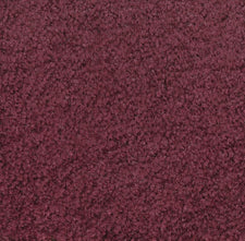 "Mt. St. Helens Solid Cranberry Classroom Rug, 8'3"" x 11'8"" Oval"