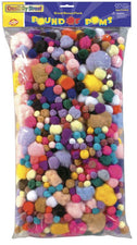 Pound of Poms - 1 Pound - Bonus Bag Assortment
