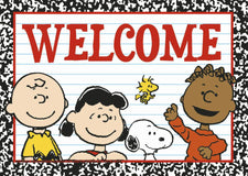 Peanuts® Welcome Teacher Cards