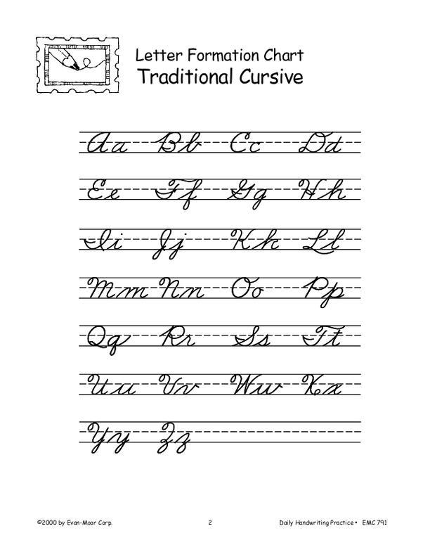 evan moor daily handwriting practice traditional cursive emc791 supplyme. Black Bedroom Furniture Sets. Home Design Ideas