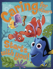 Finding Nemo Caring For Others Poster