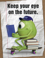 Monsters University Eye On The Future Poster