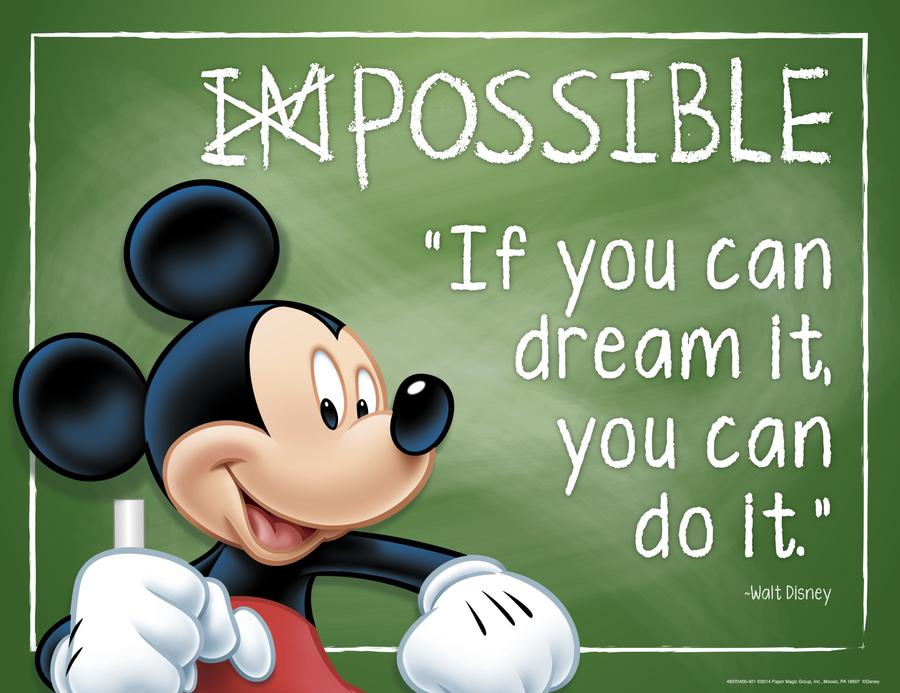 Mickey Mouse® Possible Poster