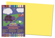 "SunWorks® Construction Paper, 12"" x 18"" Yellow"