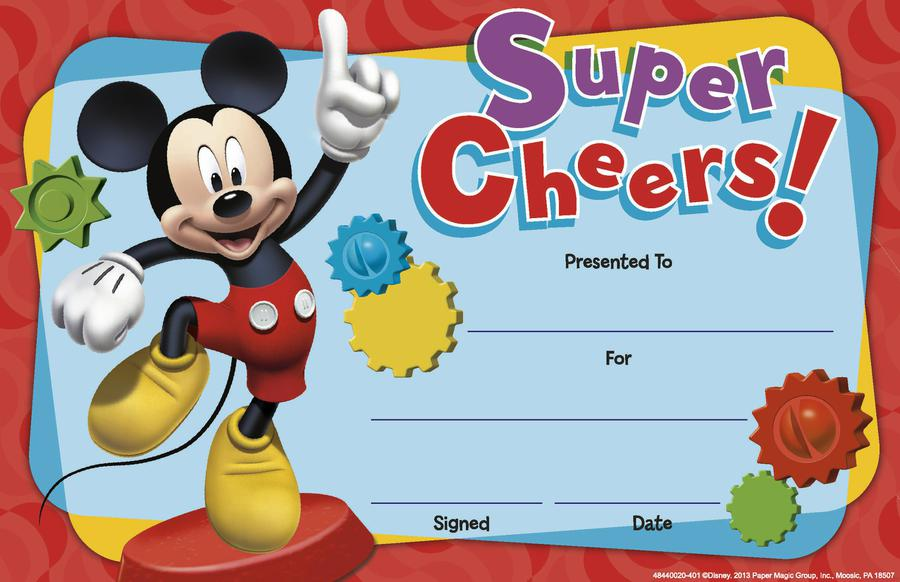 Mickey Mouse Clubhouse® Super Cheers Recognition Awards