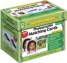 Carson Dellosa Photographic Matching Cards Learning Cards
