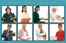 Listening Lotto: Community Helpers
