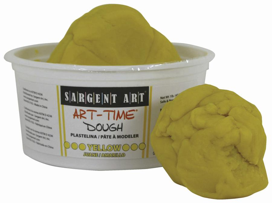 1 Lb Art Time Dough - Yellow