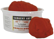 1 Lb Art Time Dough - Red
